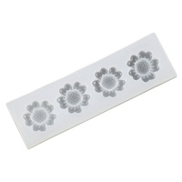 SILICONE FLOWERS 11CM MOULD