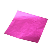 Foil Chocolate Wrap Pinkish/ Purple  8x8cm Square 100pcs