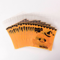 Halloween Self Adhesive Bag 7cm - 25 Pack