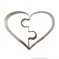 JIGSAW HEART COOKIE CUTTER
