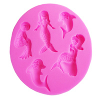 MERMAIDS SILICONE MOULD