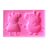 PEPPA PIG SILICONE MOULD