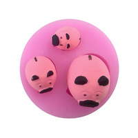 SILICONE MOULD - PIGS
