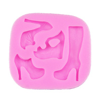 LADIES SHOES SILICONE MOULD