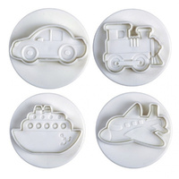 Plunger Cutter - Vehicles Set Of 4