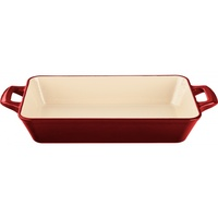 La Cuisine Roaster Rectangular RED 36 x 23cm