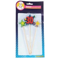 STAR PICK CANDLE - 30