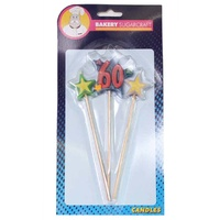 STAR PICK CANDLE - 60
