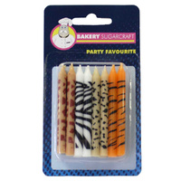 ANIMAL PRINTED BIRTHDAY CANDLE