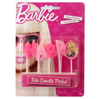 BARBIE HAPPY BIRTHDAY CANDLE PICK