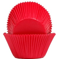 GoBake Red Baking Cups 58x47mm 1000