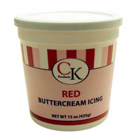 Buttercream Icing Red - 15 Oz