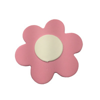 Gumpaste Flat Bright Flower Large Pink