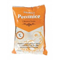 Bakels Pettinice Orange Icing Fondant - 750g