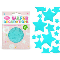 Quality Sprinkles Wafer Blue Stars