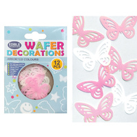 Quality Sprinkles Wafer Lacy Butterflies