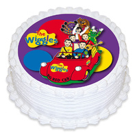 WIGGLES 165MM EDIBLE IMAGES