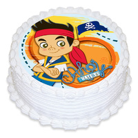 Jake The Pirate Edible Image - Round