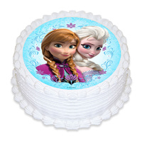 Frozen Edible Image - Round