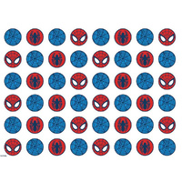Spiderman Pattern Sheet