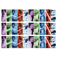 Starwars Cake Strips
