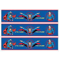 Superman Cake Strips