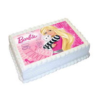 Barbie Edible Image - A4