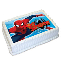 Spiderman Edible Image - A4