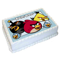 Angry Birds Edible Image - A4