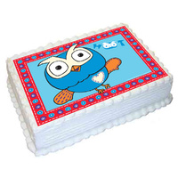 Giggle And Hoot Edible Image - A4