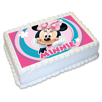 Minnie Mouse Edible Image - A4