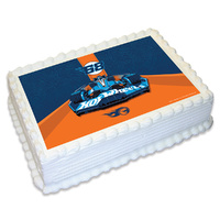 Hot Wheels Edible Image - A4
