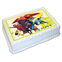 Big Hero 6 Edible Image - A4