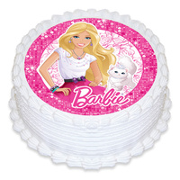 Barbie Princess Edible Image