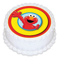 Elmo 165mm Edible Image
