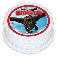 How To Train Your Dragon Edible Image
