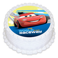Cars Edible Image - Round