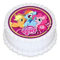 MY LITTLE PONY EDIBLE IMAGE