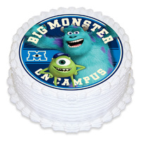 Monsters University Round Edible Image