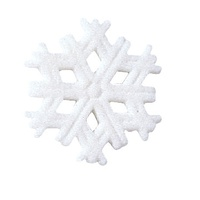Snowflake Sugar Decorations 3.5cm