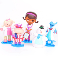 Doc mcstuffins Toy Decoration Set 5pcs