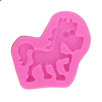 6.5cm Horse Silicone Mould