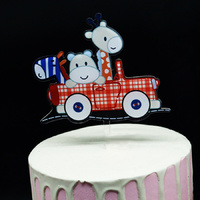 Acrylic Animals In Car Topper
