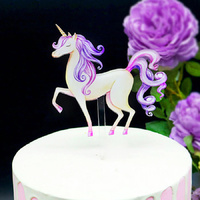 Acrylic Unicorn Topper
