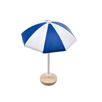 Beach Umbrella Decoration Blue