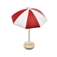 Beach Umbrella Decoration Red