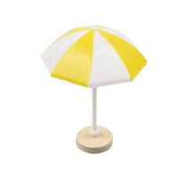 Beach Umbrella Decoration Yellow
