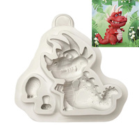 Silicone Dinosaur Mould 7cm