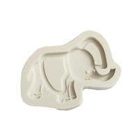 8cm Elephant Silicone Mould