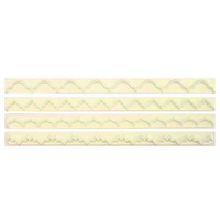 Cutter - Straight Frill Set Of 4